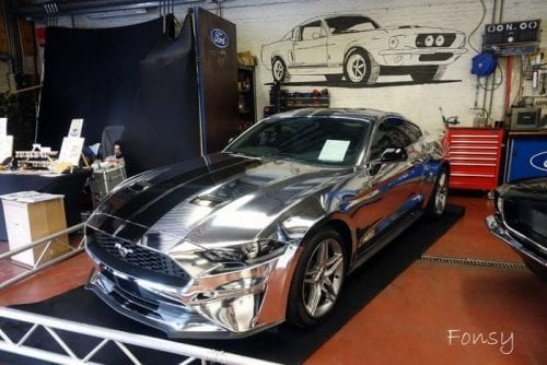 Chrome Mustang @ Mustang Fever 2019