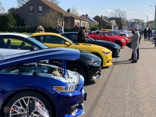 Lots of beautiful Mustangs @ Mustang Fever 2019